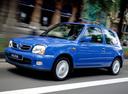 Фото авто Nissan Micra K11C [2-й рестайлинг], ракурс: 45