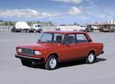 Фото авто ВАЗ (Lada) 2107 1 поколение, ракурс: 45 цвет: красный