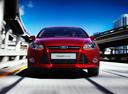 Фото авто Ford Focus 3 поколение,  цвет: бордовый
