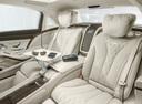 Фото авто Mercedes-Benz S-Класс W222/C217/A217, ракурс: задние сиденья