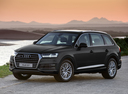 Фото авто Audi Q7 4M, ракурс: 45 цвет: черный