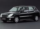 Фото авто Daihatsu Sirion 1 поколение [рестайлинг], ракурс: 45 - рендер цвет: черный