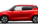 Фото авто Suzuki Swift 5 поколение, ракурс: 90 цвет: красный