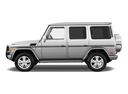 Фото авто Mercedes-Benz G-Класс W463 [рестайлинг], ракурс: 90 - рендер цвет: серебряный