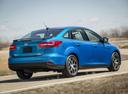 Фото авто Ford Focus 3 поколение [рестайлинг], ракурс: 225 цвет: синий