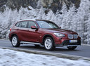 Фото авто BMW X1 E84, ракурс: 315 цвет: красный