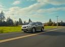 Фото авто Subaru Forester 5 поколение, ракурс: 45 цвет: зеленый