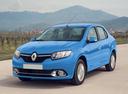Фото авто Renault Logan 2 поколение, ракурс: 45 цвет: голубой