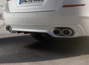 Фото авто Alpina D5 F10/F11 [рестайлинг], ракурс: задняя часть цвет: белый