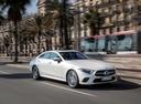 Фото авто Mercedes-Benz CLS-Класс C257, ракурс: 315 цвет: серебряный