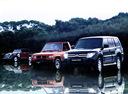 Фото авто Mitsubishi Pajero 4 поколение, ракурс: 45 цвет: черный