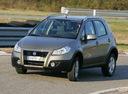 Фото авто Fiat Sedici 1 поколение [рестайлинг], ракурс: 45 цвет: бежевый