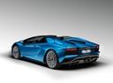 Фото авто Lamborghini Aventador 1 поколение [рестайлинг], ракурс: 135 цвет: синий