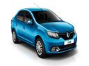Фото авто Renault Logan 2 поколение, ракурс: 315 - рендер цвет: синий