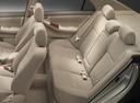 Фото авто Toyota Corolla E120, ракурс: задние сиденья