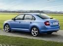 Фото авто Skoda Rapid 3 поколение, ракурс: 135 цвет: голубой