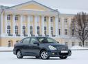 Фото авто Nissan Almera G11, ракурс: 315 цвет: серый