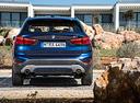 Фото авто BMW X1 F48, ракурс: 180 цвет: синий