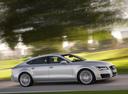 Фото авто Audi A7 4G, ракурс: 270 цвет: серый