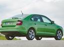 Фото авто Skoda Rapid 3 поколение [рестайлинг], ракурс: 225 цвет: зеленый