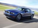 Фото авто Ford Mustang 5 поколение [рестайлинг], ракурс: 45 цвет: синий