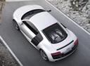 Фото авто Audi R8 1 поколение [рестайлинг], ракурс: сверху цвет: серебряный