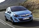Фото авто Opel Corsa D [рестайлинг], ракурс: 315 цвет: голубой