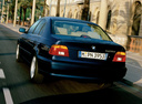 Фото авто BMW 5 серия E39 [рестайлинг], ракурс: 135 цвет: синий