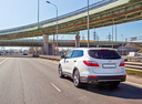 Фото авто Hyundai Santa Fe DM, ракурс: 135 цвет: белый