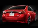 Фото авто Toyota Sai 1 поколение [рестайлинг], ракурс: 225 цвет: красный