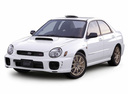 Фото авто Subaru Impreza 2 поколение, ракурс: 45 цвет: белый