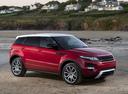 Фото авто Land Rover Range Rover Evoque L538, ракурс: 315 цвет: красный