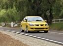 Фото авто Mitsubishi Lancer IX, ракурс: 315 цвет: желтый