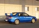 Фото авто Subaru Impreza 2 поколение [2-й рестайлинг], ракурс: 225 цвет: синий