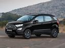 Фото авто Ford EcoSport 2 поколение [рестайлинг], ракурс: 45 цвет: черный