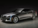 Фото авто Cadillac CTS 3 поколение, ракурс: 45 цвет: серый