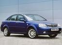 Фото авто Chevrolet Lacetti 1 поколение, ракурс: 315 цвет: синий