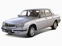 Фото авто ГАЗ 31105 Волга 1 поколение, ракурс: 45 цвет: серебряный