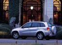 Фото авто Toyota RAV4 2 поколение, ракурс: 90 цвет: серебряный