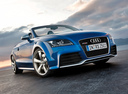 Фото авто Audi TT 8J [рестайлинг], ракурс: 315 цвет: голубой