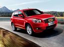 Фото авто Geely Emgrand X7 1 поколение, ракурс: 315 цвет: красный