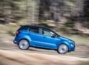 Фото авто Ford EcoSport 2 поколение [рестайлинг], ракурс: 270 цвет: синий