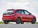 Фото авто Skoda Rapid 3 поколение [рестайлинг], ракурс: 225 цвет: красный