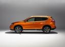 Фото авто Nissan X-Trail T32 [рестайлинг], ракурс: 90 - рендер цвет: оранжевый