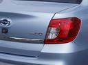 Фото авто Datsun on-DO 1 поколение, ракурс: задние фонари цвет: голубой