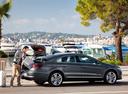 Фото авто Volkswagen Passat CC 1 поколение [рестайлинг], ракурс: 225 цвет: серый