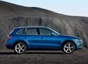 Фото авто Audi Q5 8R, ракурс: 270 цвет: синий