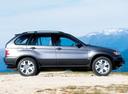 Фото авто BMW X5 E53, ракурс: 270 цвет: мокрый асфальт