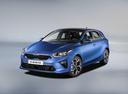 Фото авто Kia Cee'd 3 поколение, ракурс: 45 - рендер цвет: синий