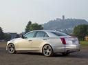 Фото авто Cadillac CTS 3 поколение, ракурс: 135 цвет: серебряный